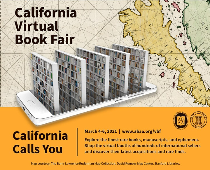 California Virtual Book Fair image