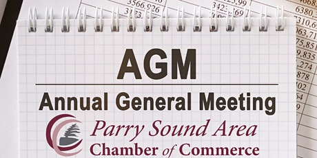 Parry Sound Area Chamber of Commerce Annual General Meeting tickets