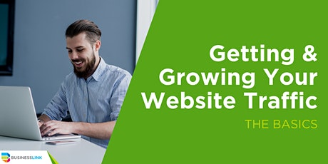 Getting and Growing Your Website Traffic: The Basics tickets