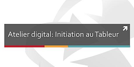 Atelier digital: initiation à l'utilisation du tableur billets