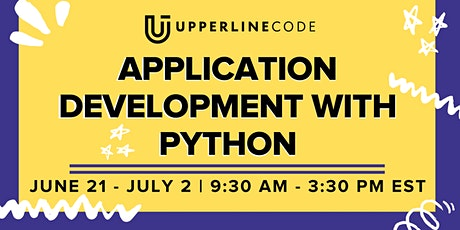 App Development with Python | June 21-July 2 (Upperline Code Virtual Class) tickets