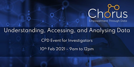 Understanding, Accessing, and Analysing Data - CPD Event for Investigators tickets