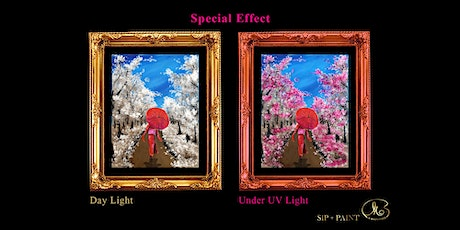 Sip and Paint (Special Effects): Sakura Tree (8pm Saturday) tickets