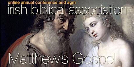 Irish Biblical Association 2021 Conference & AGM tickets