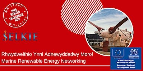 Rhwydweithio Diwydiant Ynni Morol / Marine Energy Industry Networking tickets