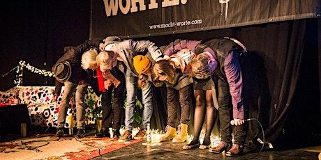 """""""Macht Worte!"""" - der hannoversche Poetry Slam Tickets"""