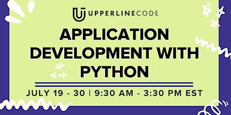 App Development with Python | July 19 - 30 (Upperline Code Virtual Class) tickets