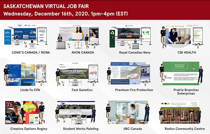 Regina Virtual Job Fair - May 19th 2021 image