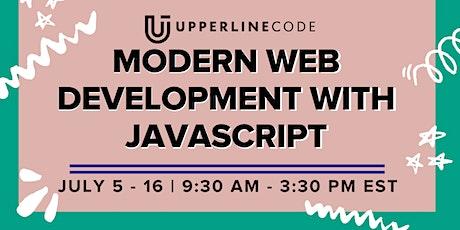 Modern Web Dev with JavaScript | July 5 - 16 (Upperline Code Virtual Class) tickets