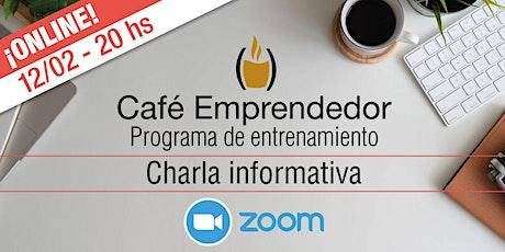 Café Emprendedor 2021. Charla informativa GRATUITA entradas