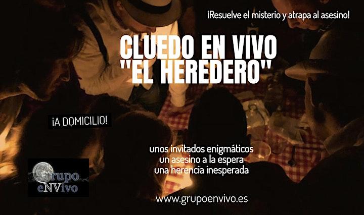 "Imagen de CLUEDO EN VIVO ""EL HEREDERO"""