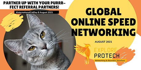 Global Online Speed Networking Event August 2021 tickets