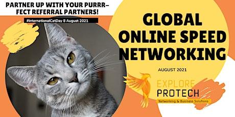 Global Online Speed Networking Event August 2021 ingressos