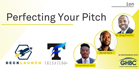 Perfecting Your Pitch tickets