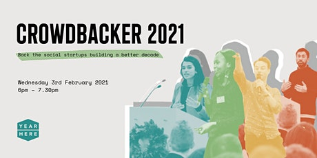 Crowdbacker 2021 tickets