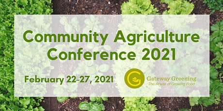 Community Agriculture Conference 2021 tickets