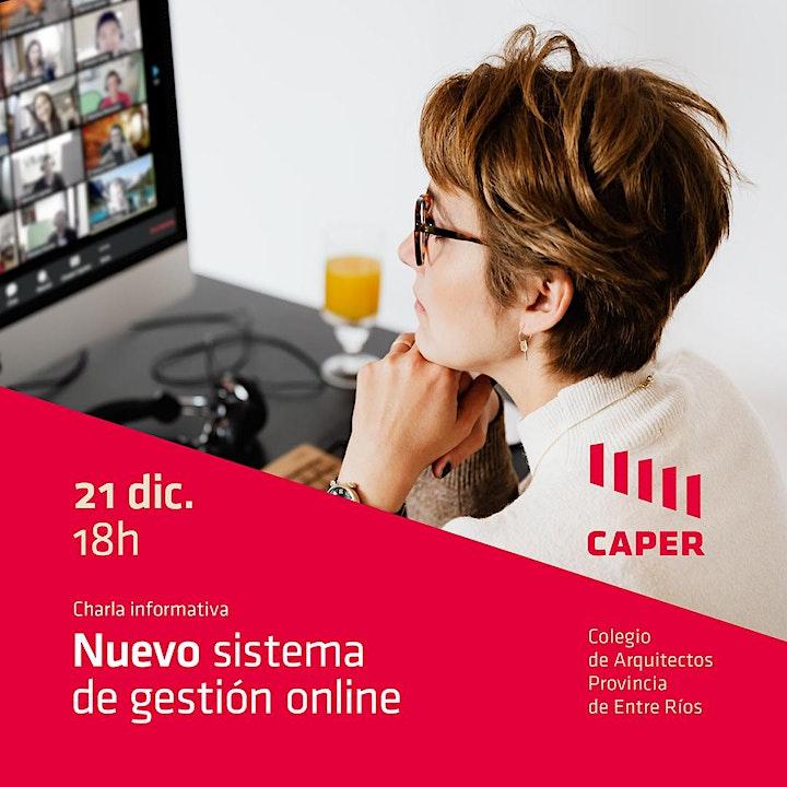 Imagen de Sistema de gestión online CAPER