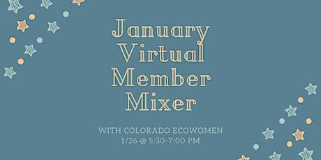 CO EcoWomen January Virtual Member Mixer tickets