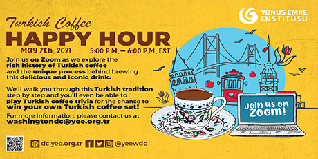 Virtual Turkish Coffee Happy Hour 7th Edition tickets
