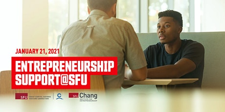 Entrepreneurship support@SFU tickets