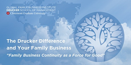 Family Business Continuity as a Force for Good tickets