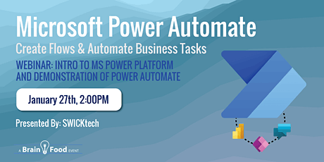 Microsoft Power Automate: Create Flows & Automate Business Tasks tickets