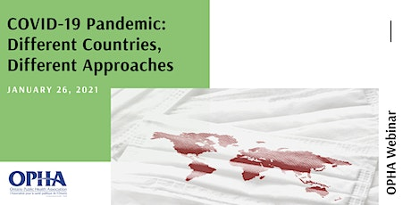COVID-19 Pandemic: Different Countries, Different Approaches tickets