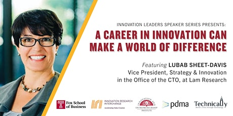 A Career in Innovation Can Make a World of Difference tickets