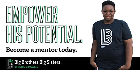 Learn about mentoring with Big Brothers Big Sisters! (Virtual) tickets