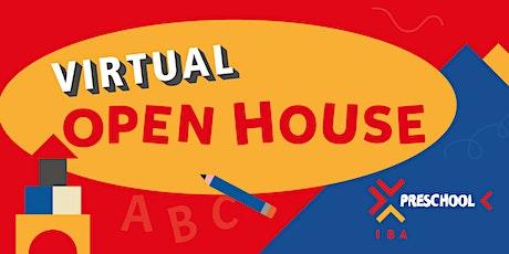 IBA's Preschool Virtual Open House tickets