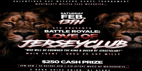 Battle Royale: Love Of Jersey Club tickets
