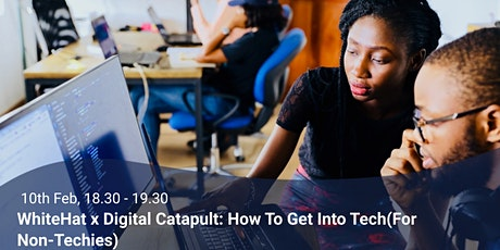 Multiverse x Digital Catapult: How to Get into Tech (for Non-Techies!) tickets
