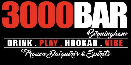 3000 Bar Birmingham VIP Experience tickets
