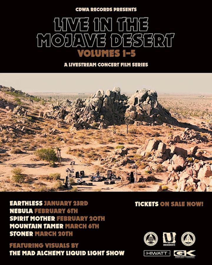 NEBULA - Live In The Mojave Desert  (Livestream Concert Film) image