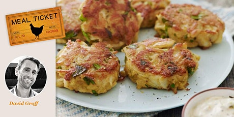 MealticketSF's Private Live Cooking Class  - Crab Cakes with Aioli tickets