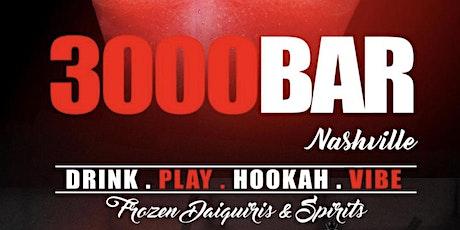 3000 Bar Nashville Vip Experience tickets