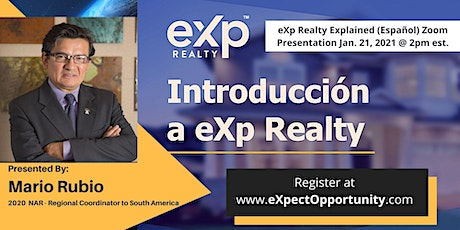 eXp Realty eXplained (Español) with Mario Rubio -  Live Zoom Meeting tickets