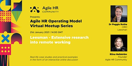 Preparing for 2021 with 150,000 insights about the remote workplace. tickets