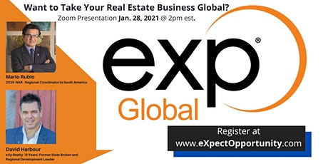 How To Take Your Real Estate Business Globally with eXp Realty tickets
