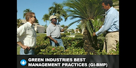 Green Industries Best Management Practices (GI-BMP) Training tickets