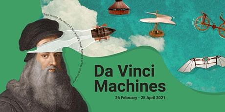 DA VINCI MACHINES tickets