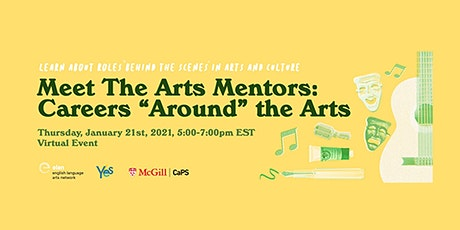 "Meet the Arts Mentors: Careers ""Around"" the Arts tickets"