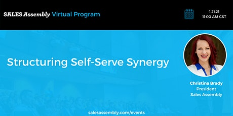 Structuring Self-Serve Synergy tickets