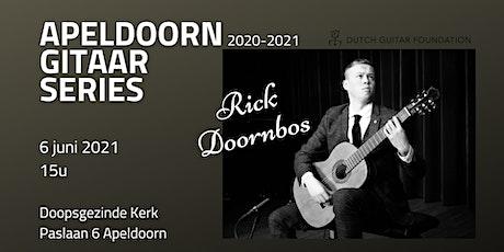 Apeldoorn Gitaar Series: Rick Doornbos tickets