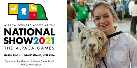 2021 AOA National Alpaca Show tickets
