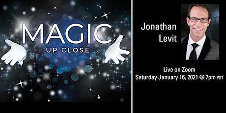 Magic Up Close with Jonathan Levit tickets