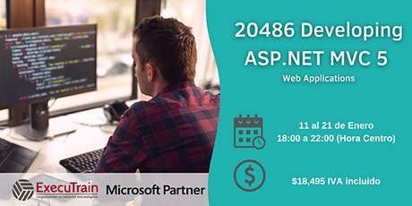 Curso 20486 Developing ASP.NET MVC 5 Web Applications boletos