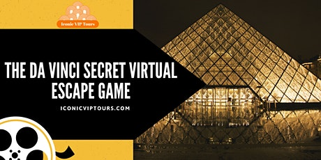The Da Vinci Secret Virtual  Escape  Game tickets