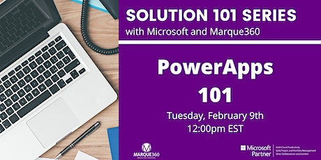 PowerApps  101 tickets