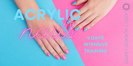 Acrylic Nails, 4 Days Intensive Training tickets